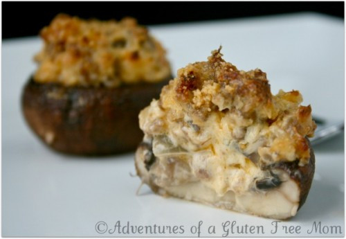Gluten And Dairy Free Appetizers  Gluten Free Stuffed Mushrooms
