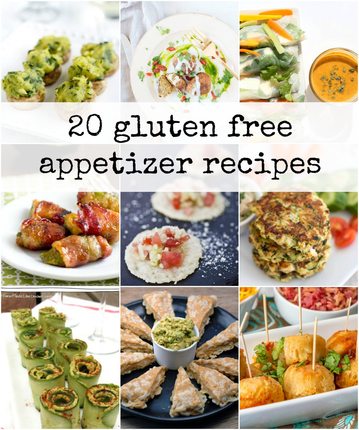 Gluten And Dairy Free Appetizers  20 Delicious Gluten Free Appetizers