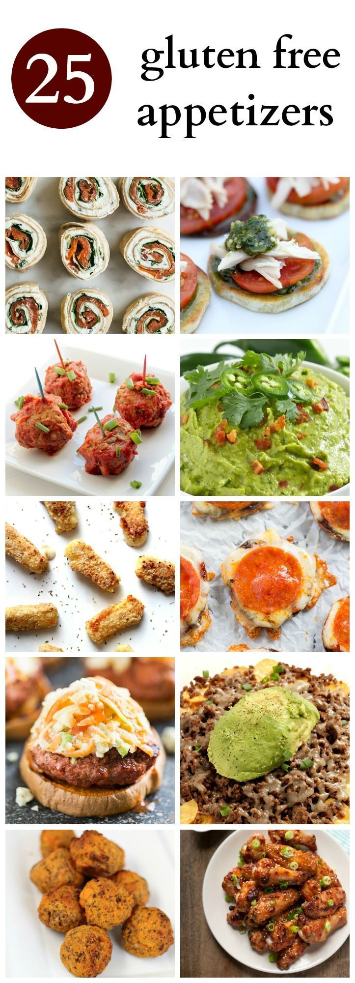 Gluten And Dairy Free Appetizers  25 best ideas about Gluten Free Appetizers on Pinterest