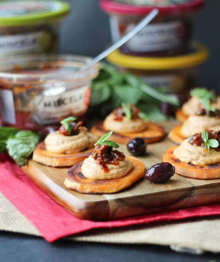 Gluten Free Appetizers  Vegan Sundried Tomato Sweet Potato Bites