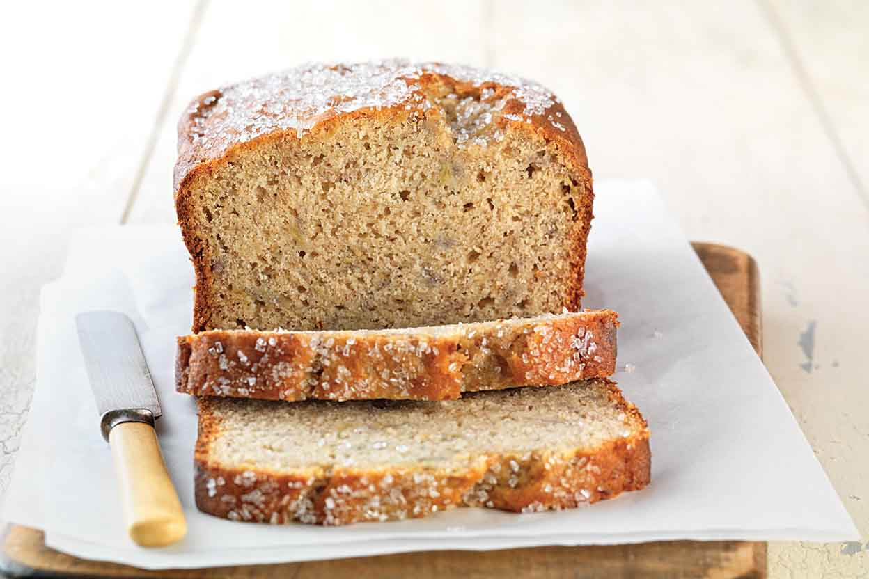 Gluten Free Bread Recipe  Gluten Free Quick & Easy Banana Bread made with baking mix