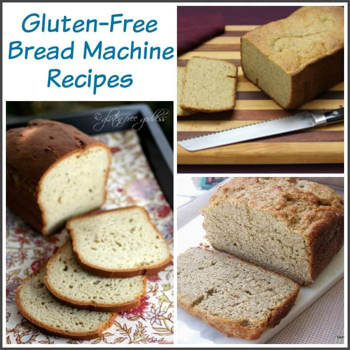Gluten Free Bread Recipe  gluten free bread machine recipe