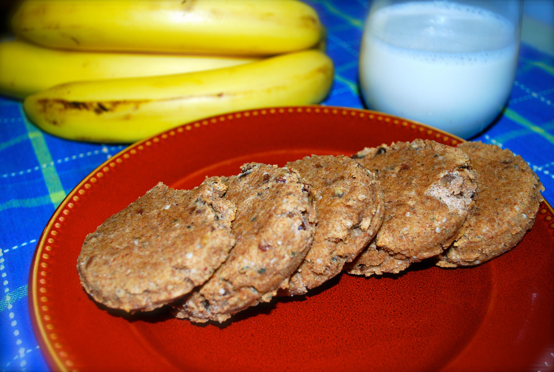 Gluten Free Breakfast Cookies  Almond Pulp Hemp Breakfast Cookies