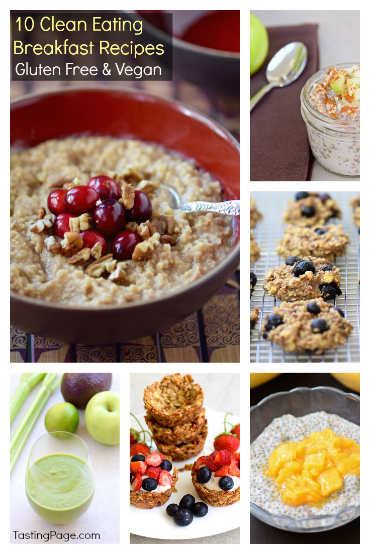 Gluten Free Brunch Recipes  Clean Eating Breakfast Recipes Gluten Free & Vegan