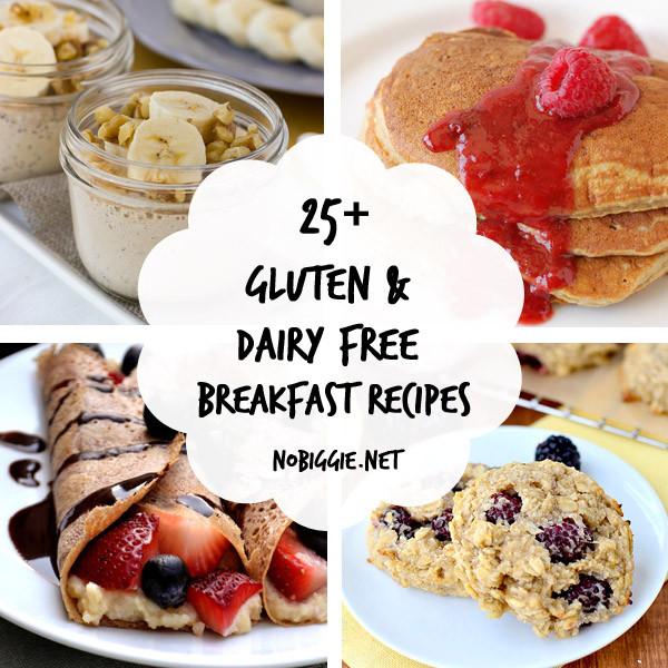 Gluten Free Brunch Recipes  25 Gluten Free and Dairy Free Breakfast Recipes