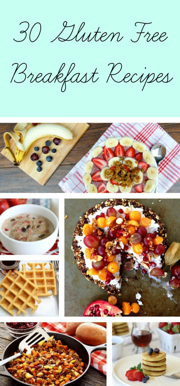 Gluten Free Brunch Recipes  30 Gluten Free Breakfast Recipes 12 are egg free Life