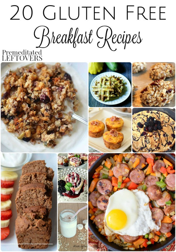 Gluten Free Brunch Recipes  20 Gluten Free Breakfast Recipes