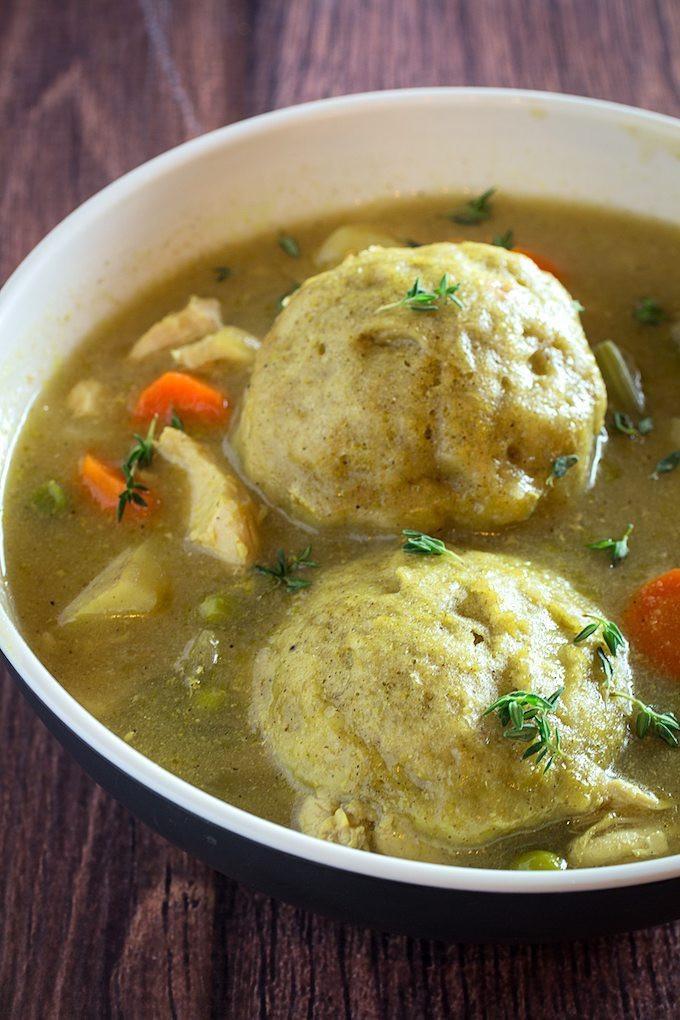 Gluten Free Chicken And Dumplings  Gluten Free Chicken & Dumplings Dishing Delish