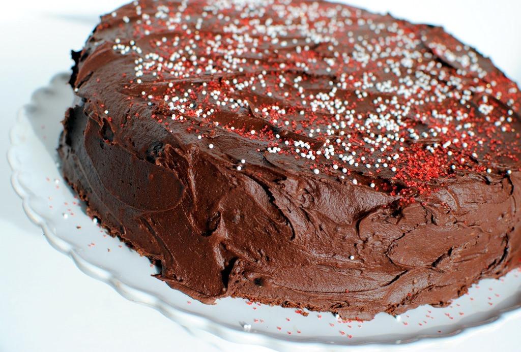 "Gluten Free Chocolate Cake Recipe  Gluten Free HERSHEY'S ""Perfectly Chocolate"" Chocolate Cake"