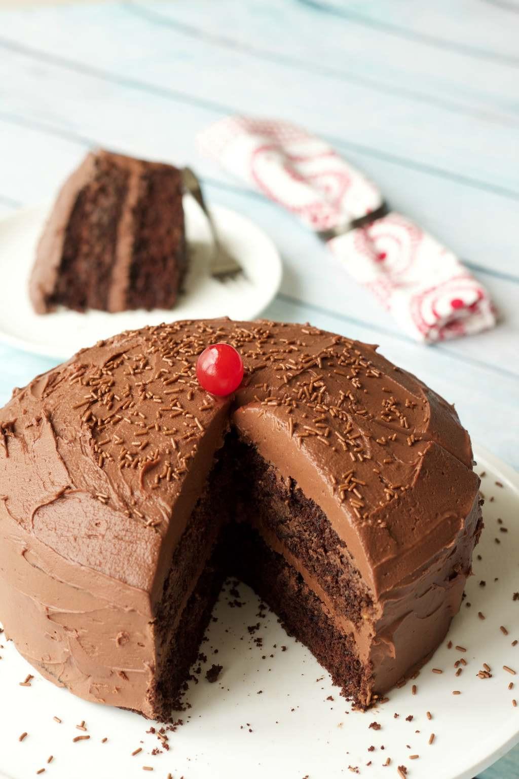 Gluten Free Chocolate Cake Recipe  Gluten Free Chocolate Cake Loving It Vegan