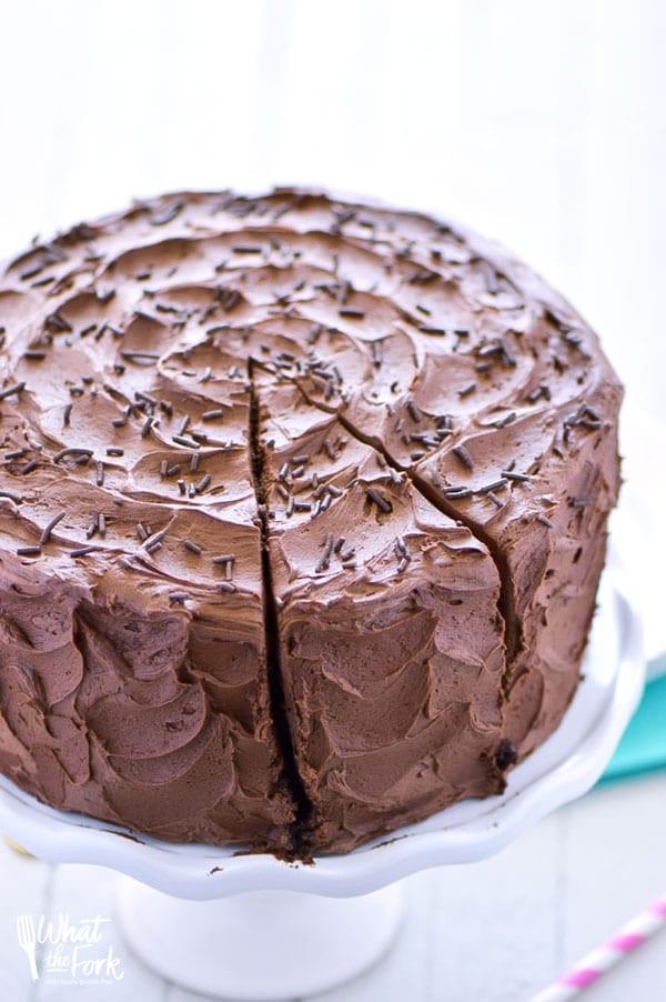 Gluten Free Chocolate Cake Recipe  The Best Gluten Free Chocolate Cake Recipe What the Fork