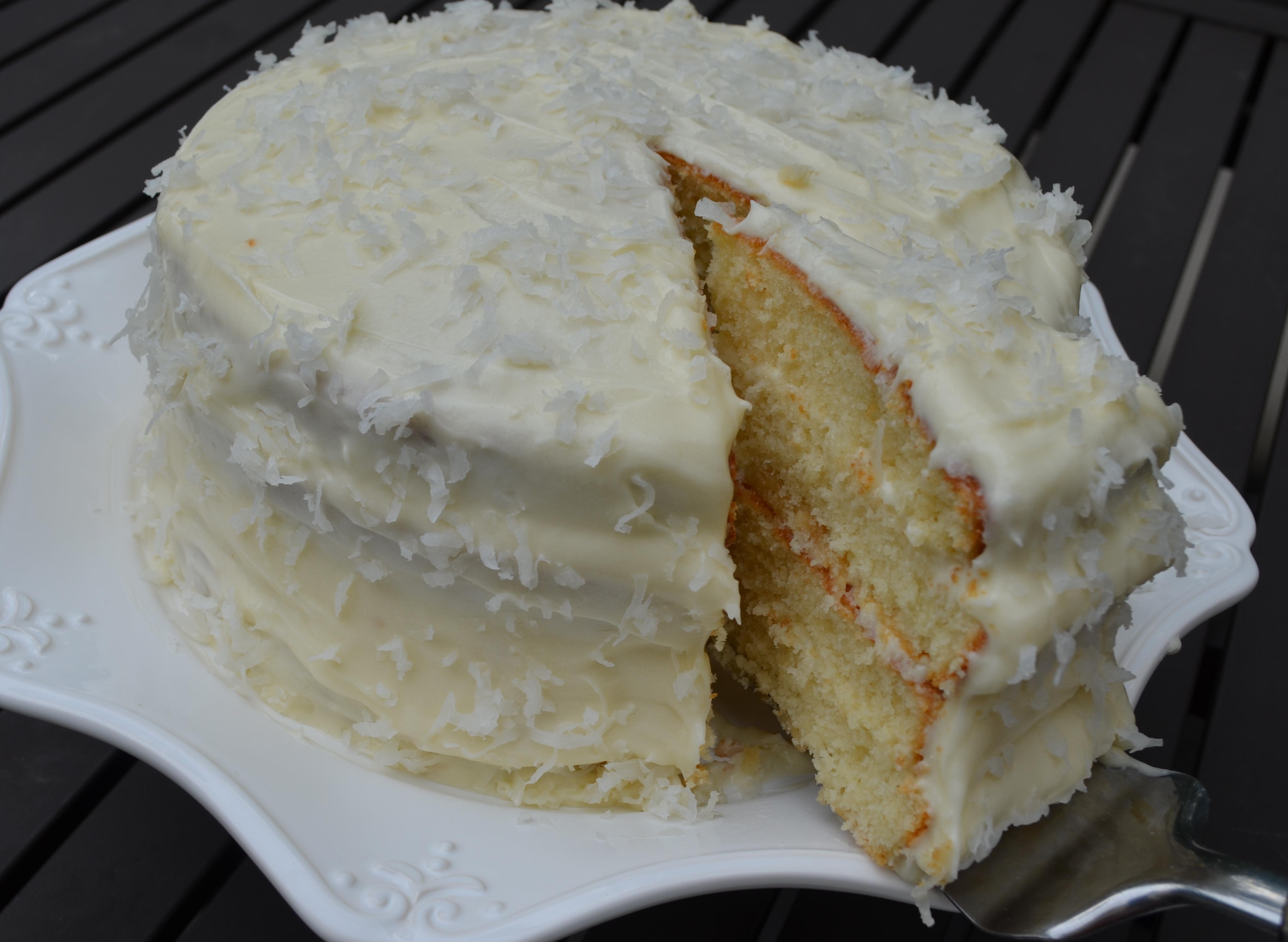 Gluten Free Coconut Cake  Gluten Free Coconut Layer Cake Recipe — Dishmaps