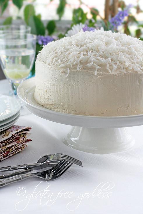 Gluten Free Coconut Cake  Gluten Free Goddess Recipes Gluten Free Coconut Layer Cake