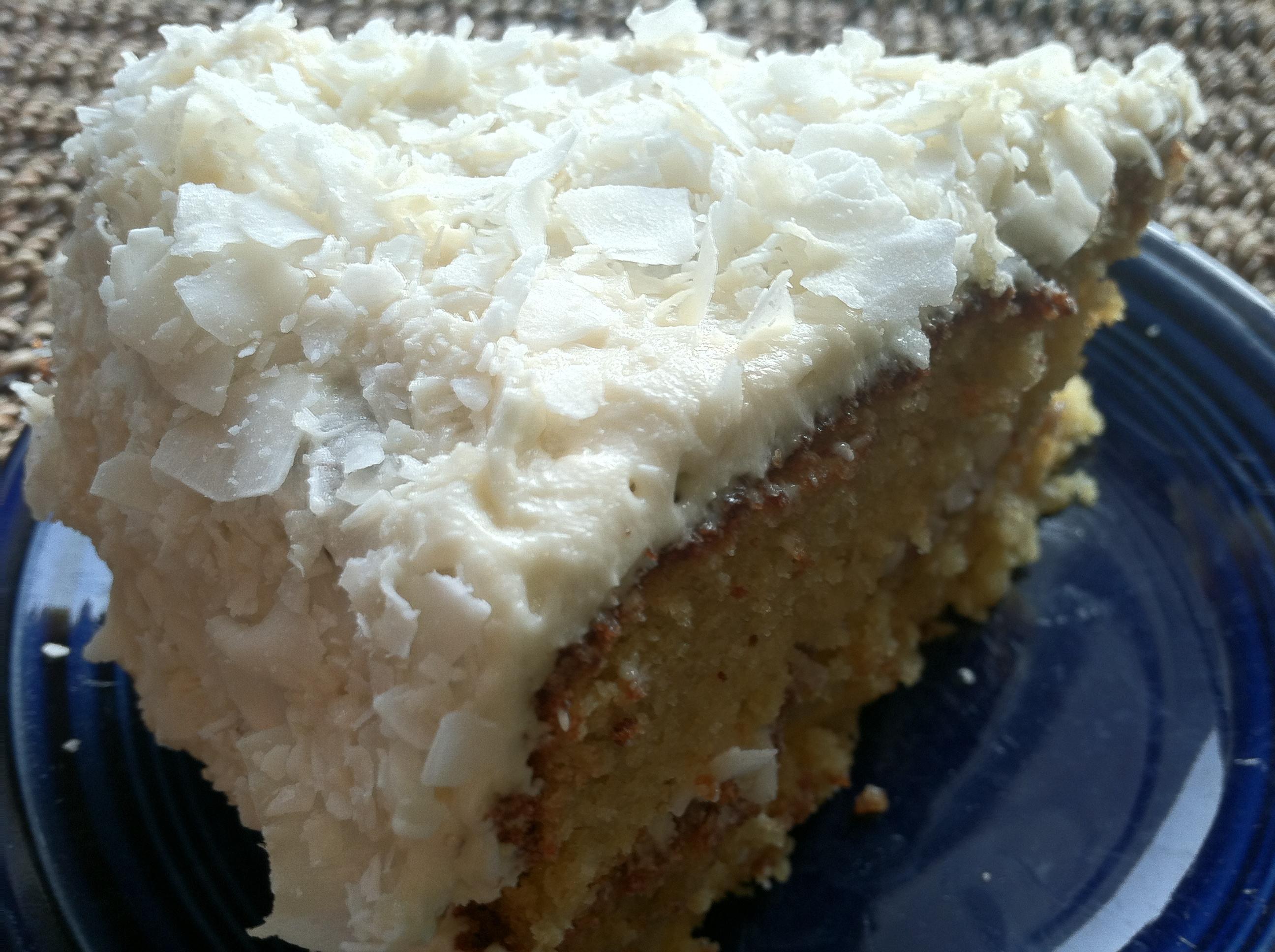 Gluten Free Coconut Cake  Gluten Free Coconut Layer Cake to Wreck Your Diet