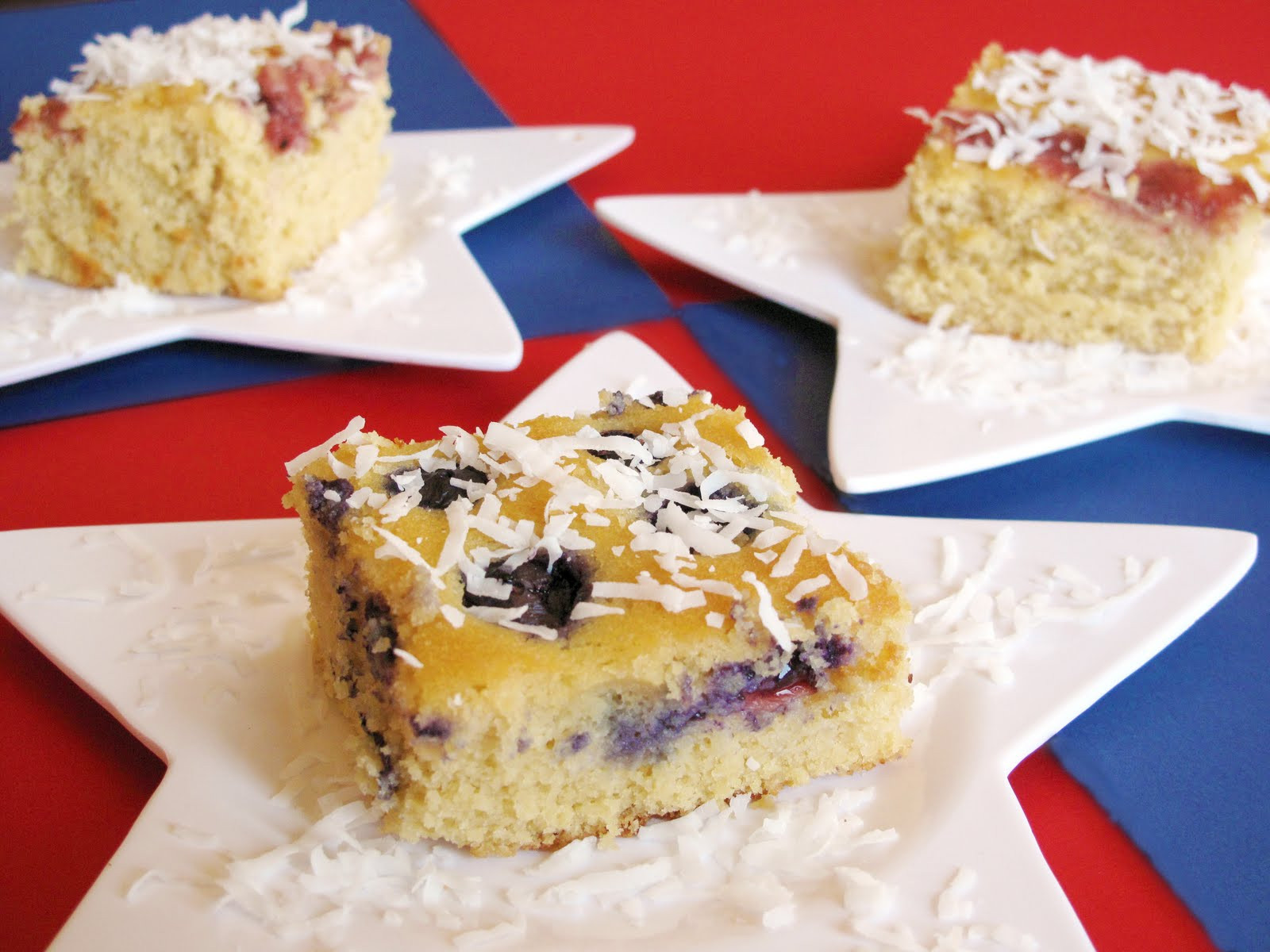 Gluten Free Coconut Cake  Recipes Gluten Free Coconut Cake with Fresh Berries