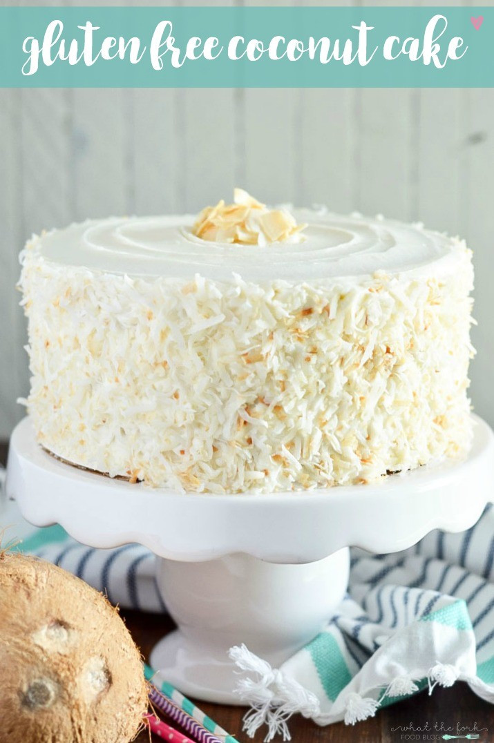 Gluten Free Coconut Cake  Easter Desserts and our Delicious Dishes Recipe Party
