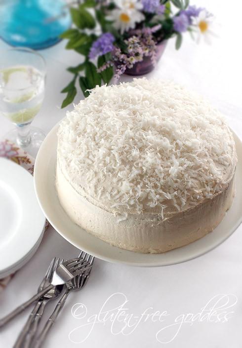 Gluten Free Coconut Cake  Red White and Blue Gluten Free Desserts