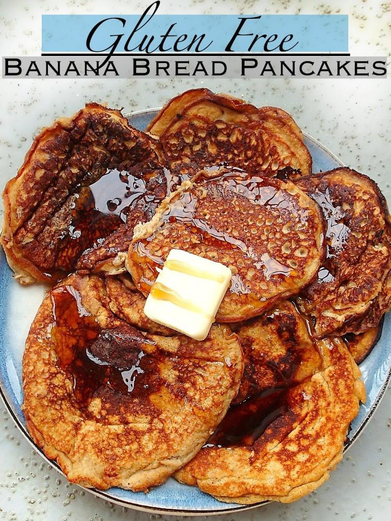Gluten Free Dairy Free Pancakes  67 Calorie Gluten Free Dairy Free Banana Bread Pancakes