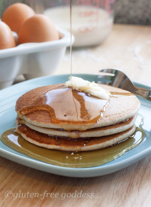 Gluten Free Dairy Free Pancakes  Gluten Free Goddess Recipes Best Gluten Free Pancakes