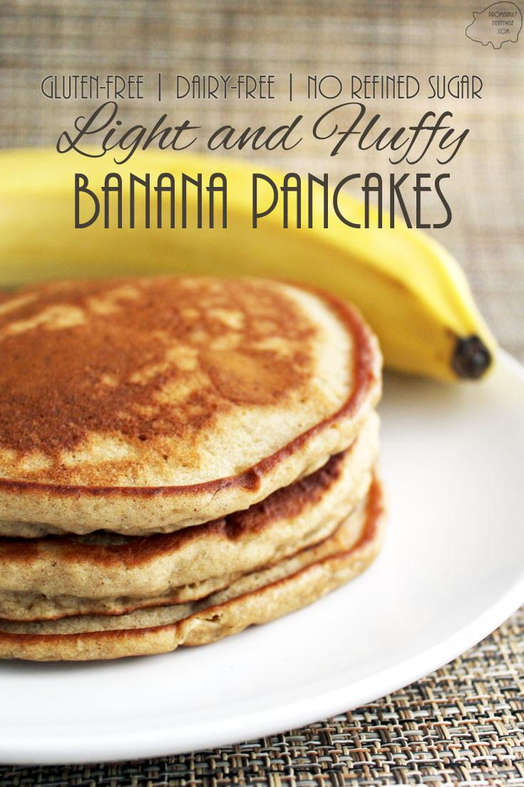 Gluten Free Dairy Free Pancakes  Light and Fluffy Banana Pancakes Gluten Free My