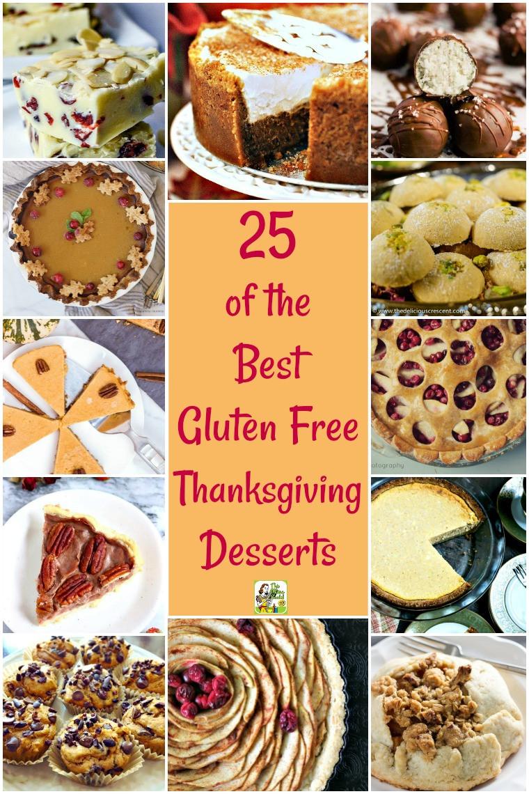 Gluten Free Desserts Recipes  25 of the Best Gluten Free Thanksgiving Desserts