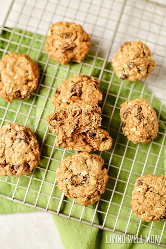Gluten Free Oatmeal Raisin Cookies  Gluten Free Dairy Free Oatmeal Raisin Cookies