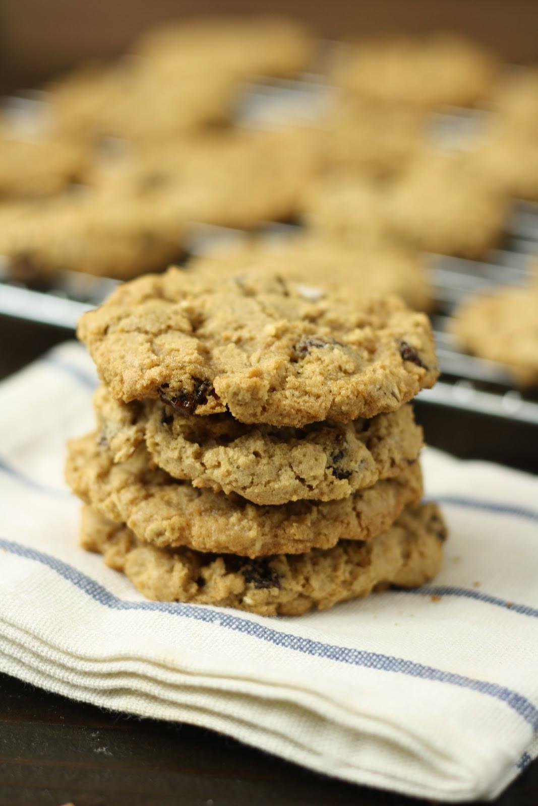 Gluten Free Oatmeal Raisin Cookies  Gluten Free Dessert Recipes for National Oatmeal Cookie