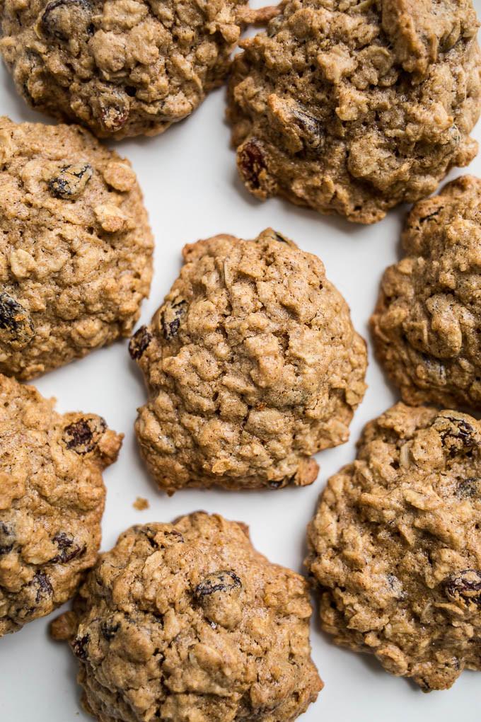 Gluten Free Oatmeal Raisin Cookies  Gluten Free Oatmeal Raisin Cookies Dairy Free Refined