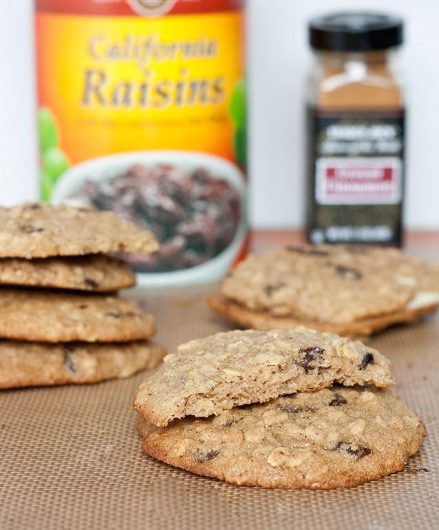 Gluten Free Oatmeal Raisin Cookies  Gluten Free Oatmeal Raisin Cookies