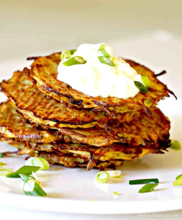 Gluten Free Potato Pancakes  gluten free potato pancakes