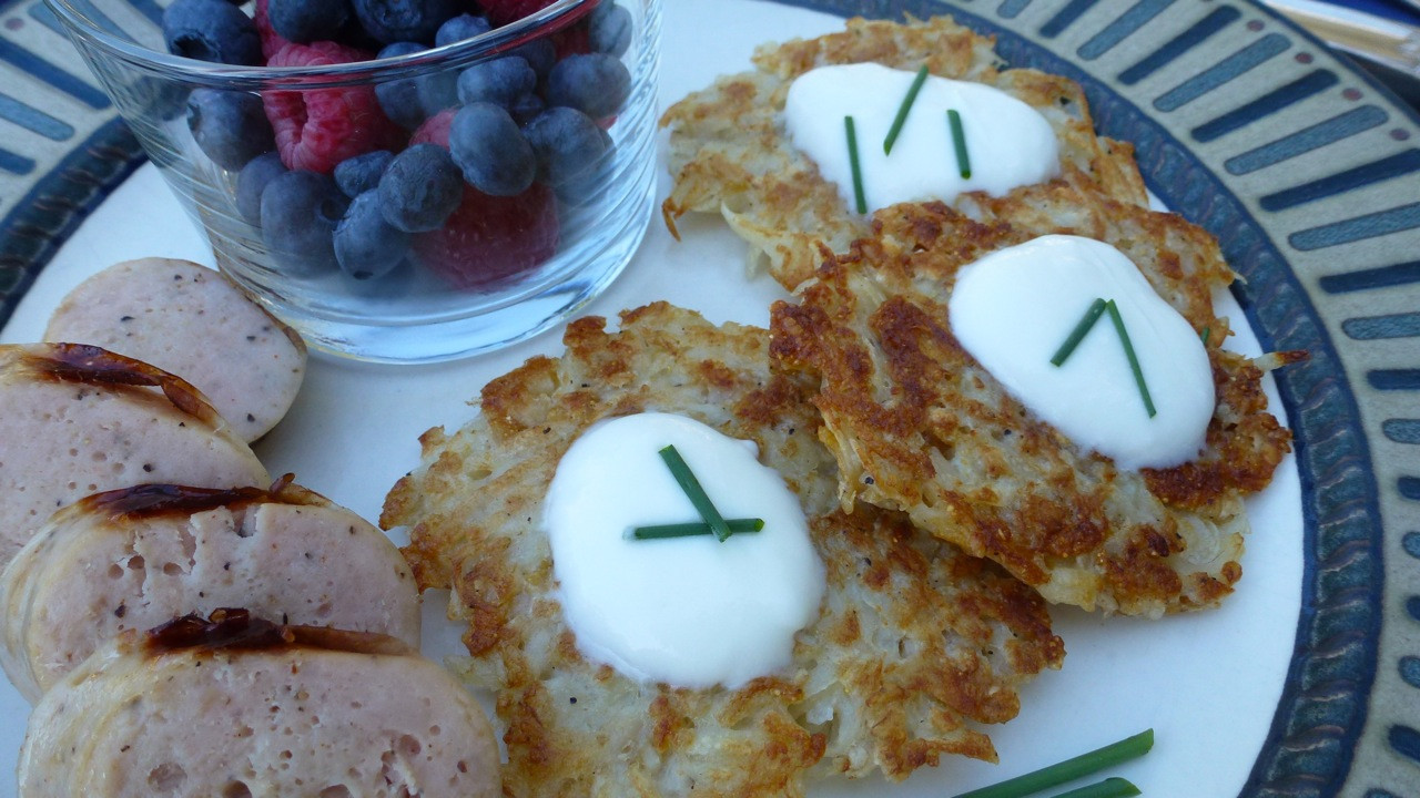 Gluten Free Potato Pancakes  Pan Fried Potato Latkes Everyday Gluten Free Gourmet