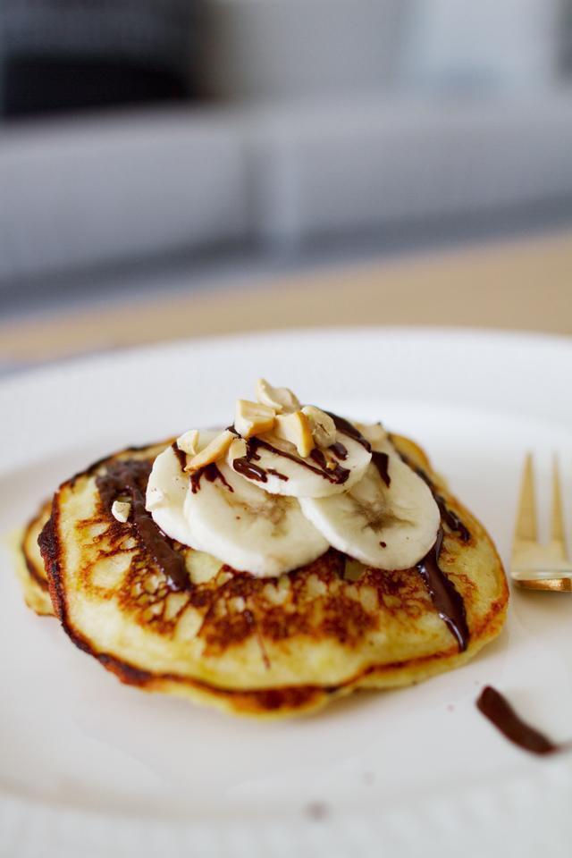 Gluten Free Potato Pancakes  Gluten Free Sweet Potato Pancakes The Chick Who EatsThe