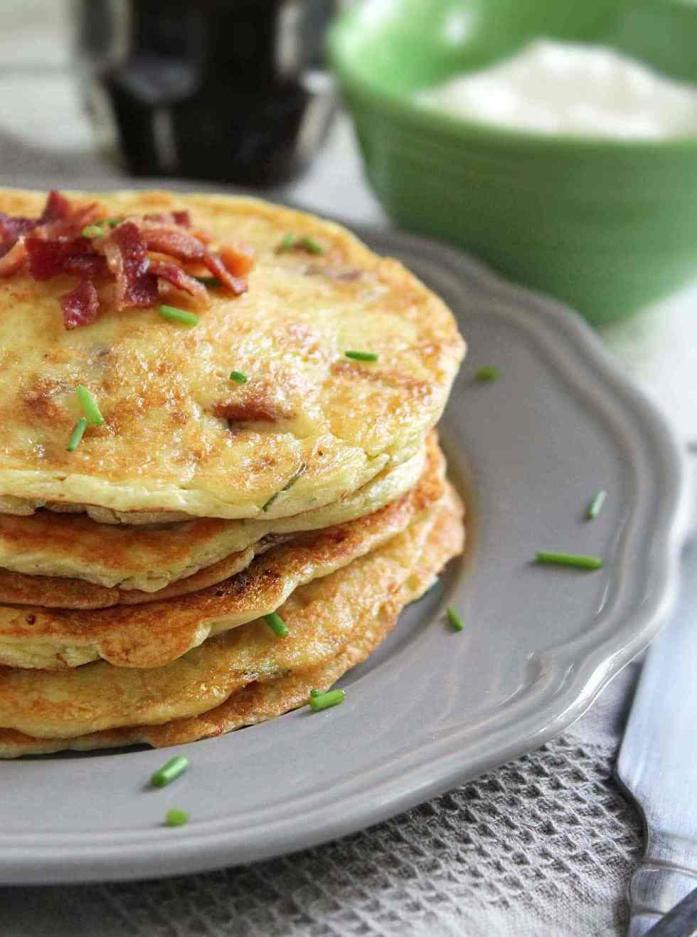 Gluten Free Potato Pancakes  Gluten Free Potato & Bacon Pancakes