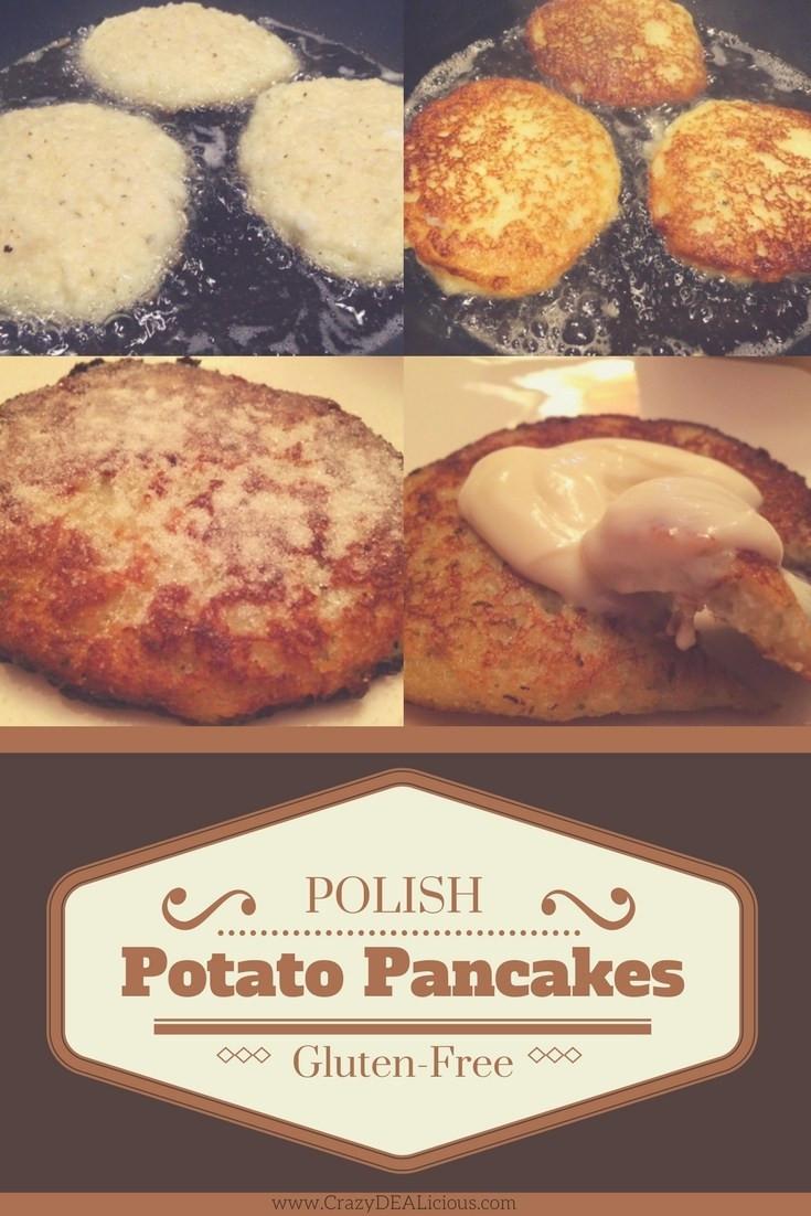 Gluten Free Potato Pancakes  Gluten Free Potato Pancakes Placki Ziemniaczane straight
