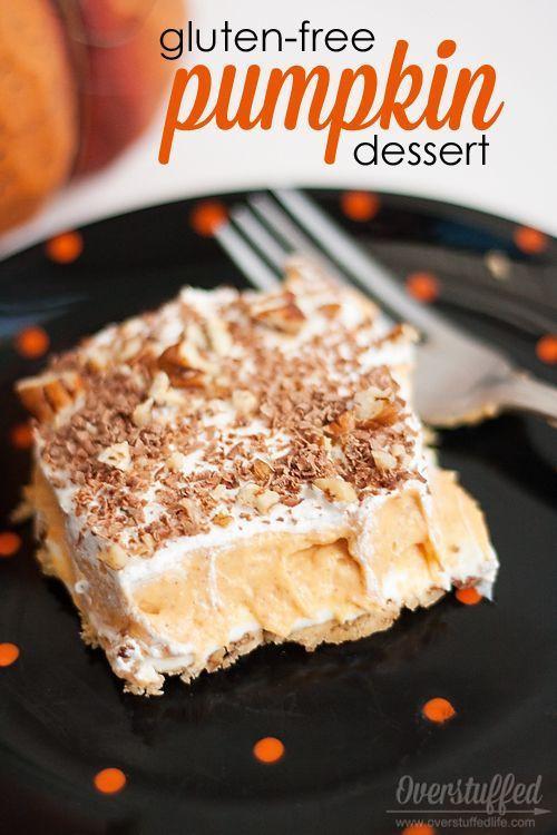 Gluten Free Pumpkin Desserts  17 Best images about Fall Holidays on Pinterest