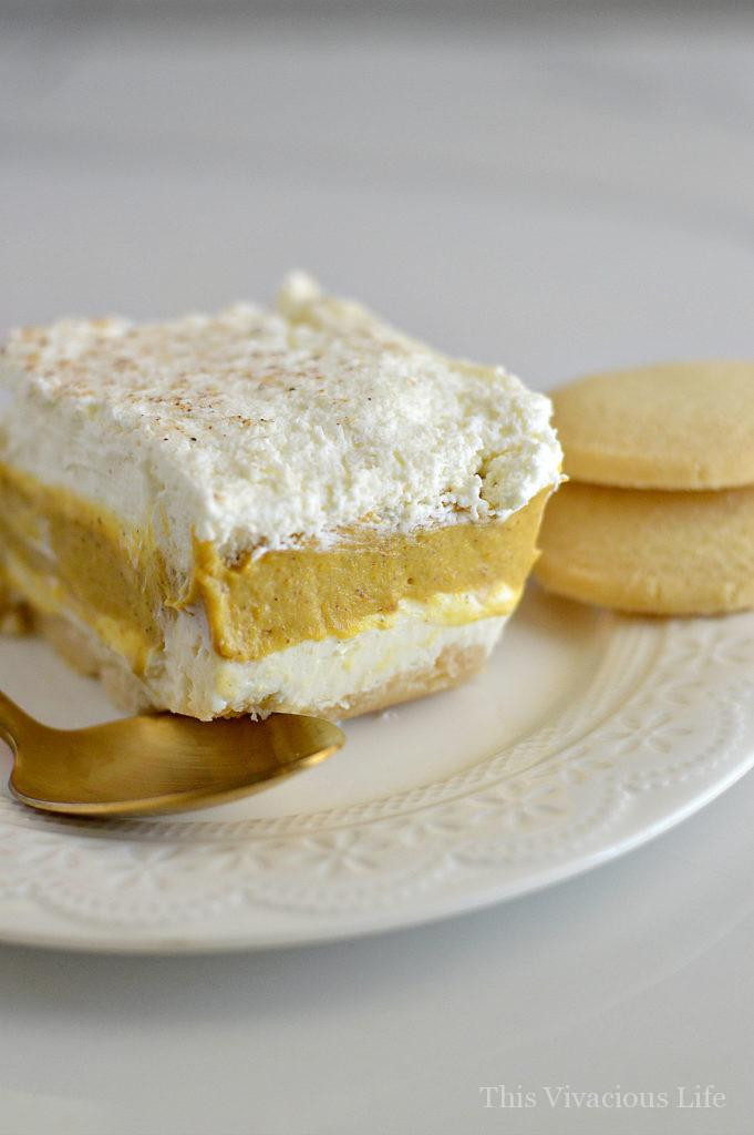 Gluten Free Pumpkin Desserts  Gluten Free Pumpkin Pie Cream Delight with Homemade