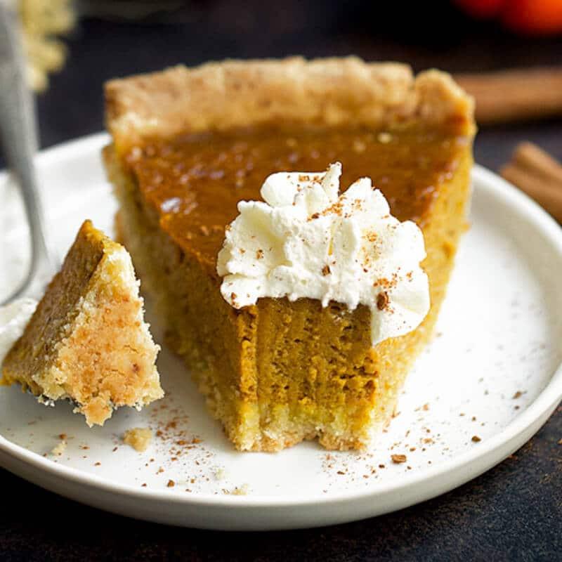 Gluten Free Pumpkin Pie  Gluten Free Vegan Pumpkin Pie