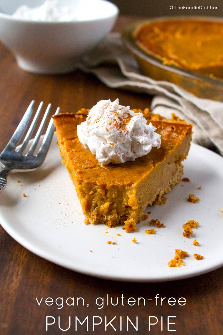 Gluten Free Pumpkin Pie  Kara Lydon