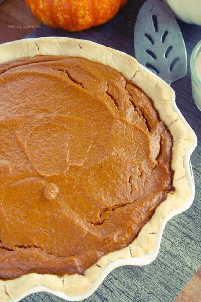 Gluten Free Pumpkin Pie  Gluten Free Pumpkin Pie ficially Gluten Free