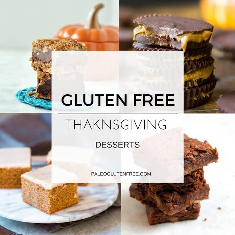 Gluten Free Recipes Dessert  Healthy Gluten Free Thanksgiving Desserts Paleo Gluten