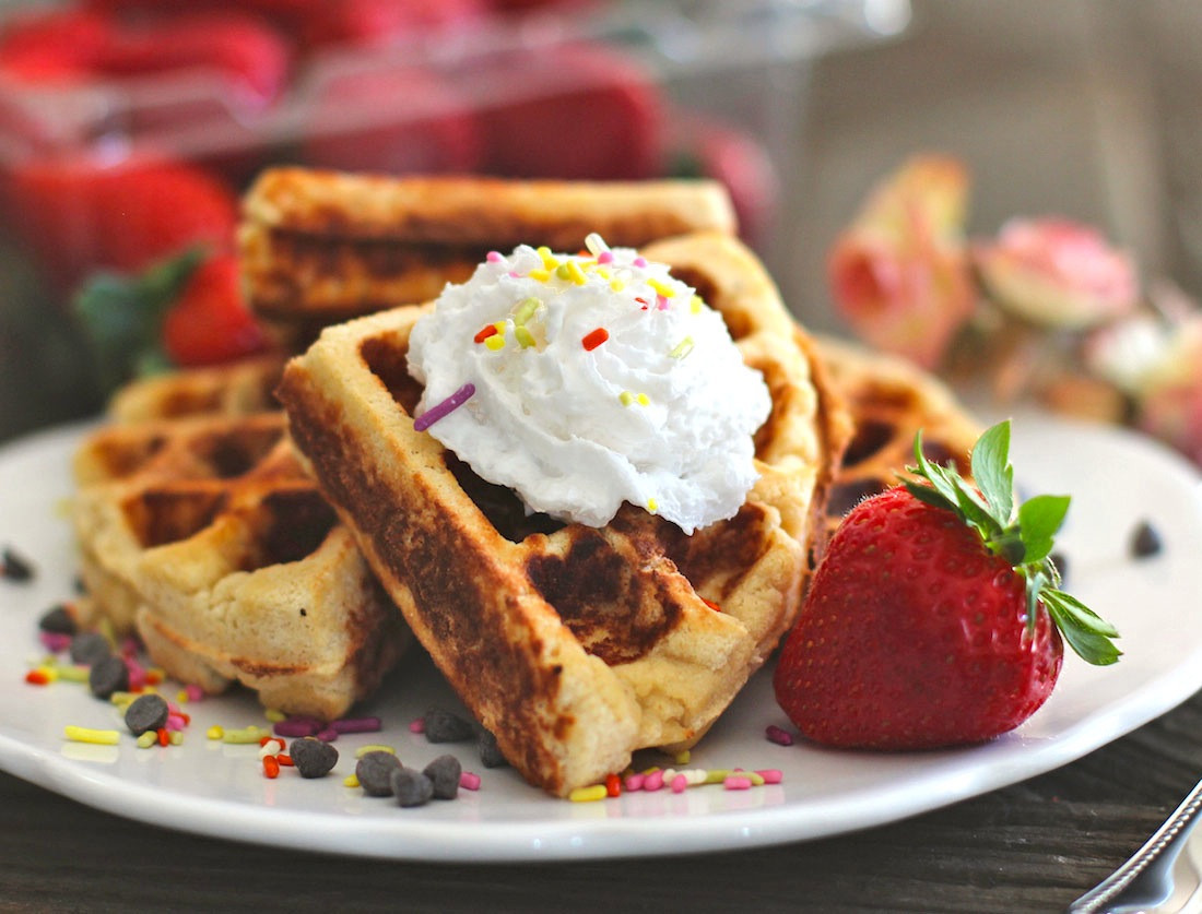 Gluten Free Recipes Dessert  Healthy Low Carb Gluten Free Waffles sugar free low fat