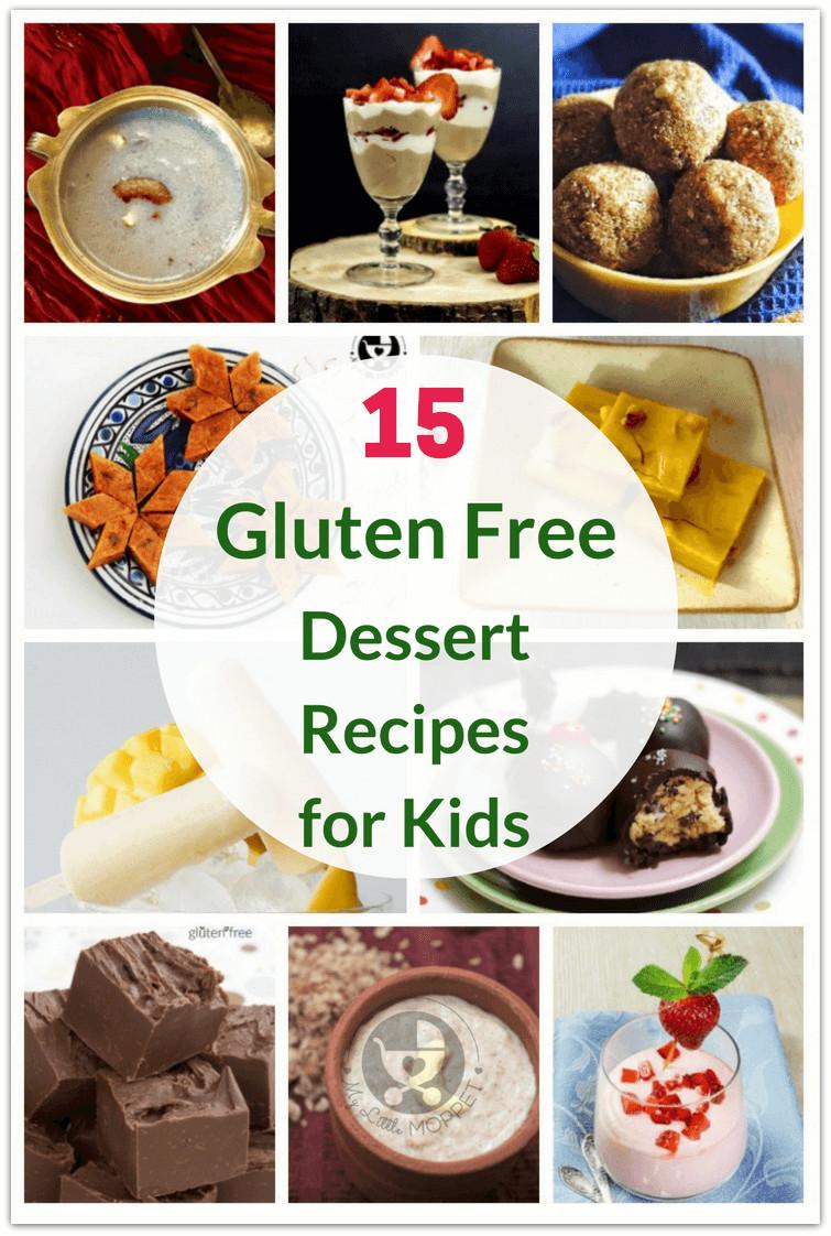 Gluten Free Recipes Dessert  60 Healthy Gluten Free Recipes for Kids