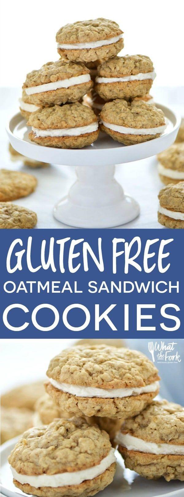 Gluten Free Recipes Dessert  Gluten Free Oatmeal Cream Pies Recipe