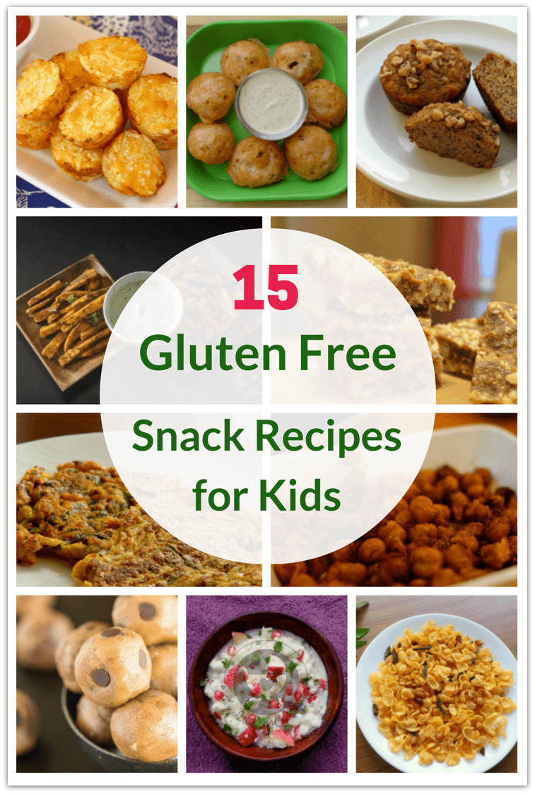 Gluten Free Snack Recipes  60 Healthy Gluten Free Recipes for Kids