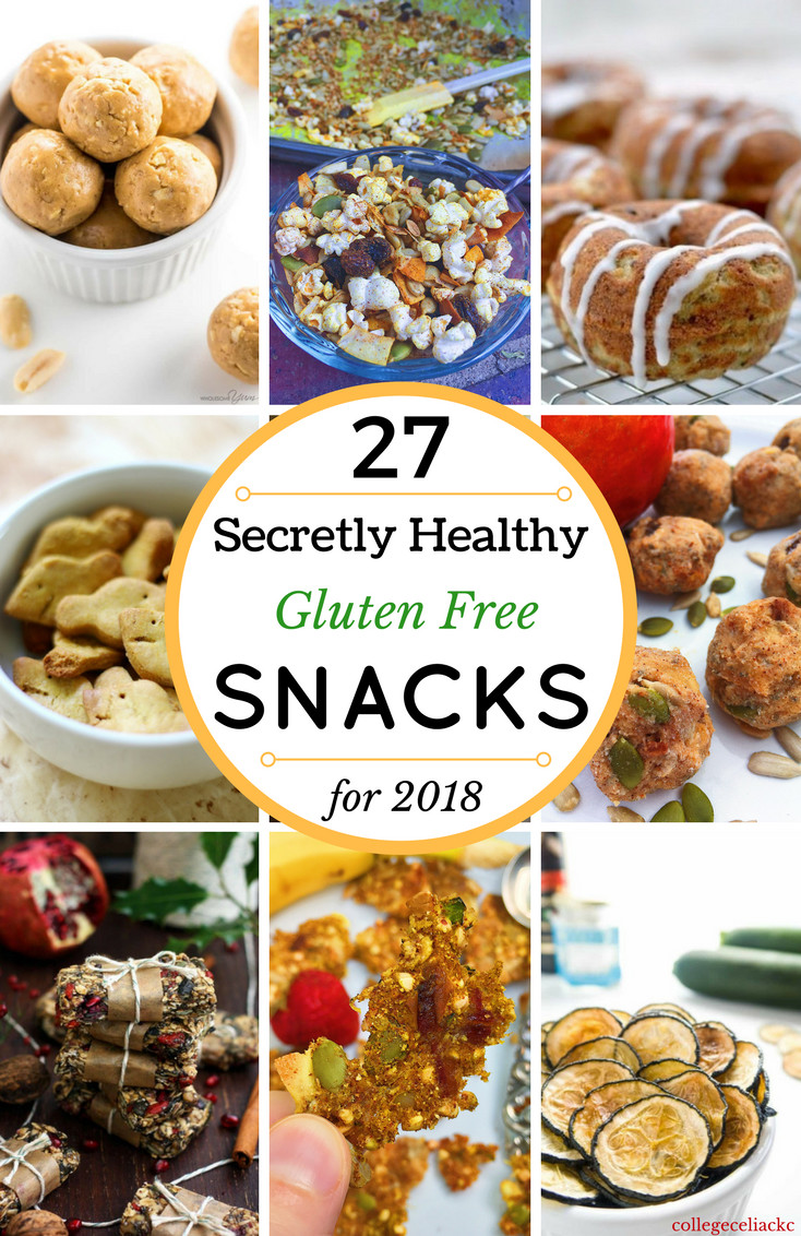 Gluten Free Snack Recipes  27 Secretly Healthy Snack Recipes to Fuel an Epic 2018