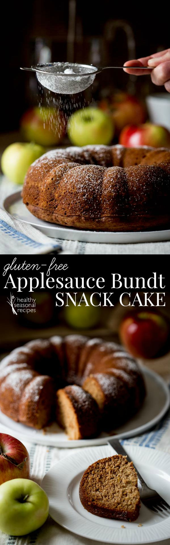 Gluten Free Snack Recipes  gluten free applesauce bundt snack cake Healthy Seasonal