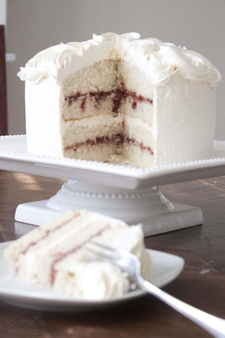 Gluten Free White Cake Recipe  White Chocolate Raspberry Vanilla Cake Gluten Free