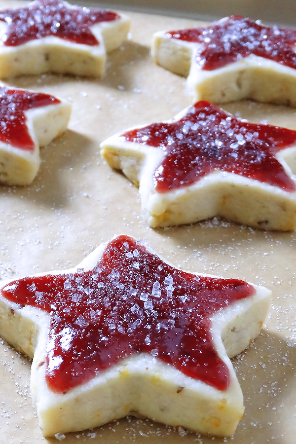 Good Christmas Desserts  Sugar Plum Shortbread Christmas Cookies Wicked Good Kitchen