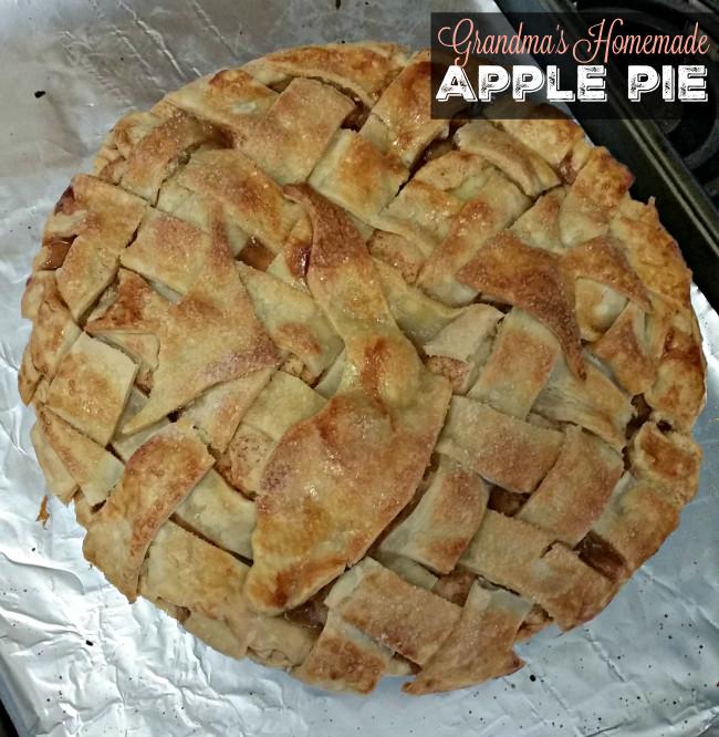 Grandma Ople'S Apple Pie  Grandma s Homemade Apple Pie Recipe