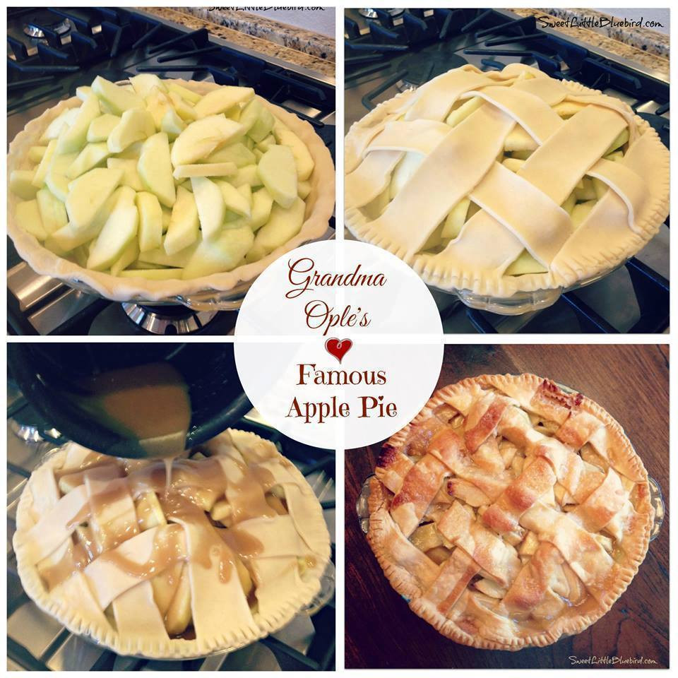 Grandma Ople'S Apple Pie  GRANDMA OPLE S FAMOUS APPLE PIE Maria s Mixing Bowl